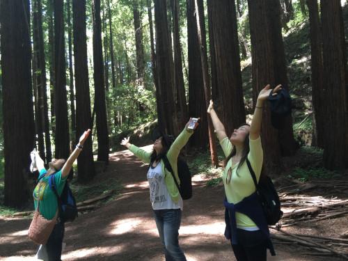 Nature Girls in California | Kei Tsuyama aka Kay T. Ananda with Wag-a ...
